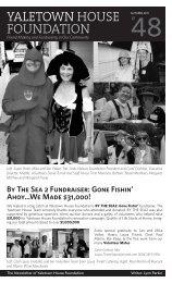 Autumn 2011 Yaletown House Foundation Newsletter