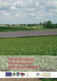 Świętokrzyskie Gospodarstwa Ekologiczne 2010 F.indd - KSOW