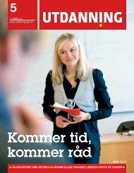 Utdanning nummer 05 2011 - Utdanningsnytt.no
