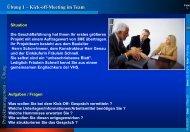 l Kick-Off-Meeting im Team - Rz.fh-augsburg.de