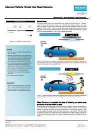 Alarmed Vehicle Hoods Use Reed Sensors - Digi-Key