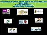 Programa de Desarrollo Rural Sustentable en Corredores Biológicos