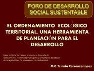 El Ordenamiento Ecológico Territorial una Herramienta de Planeación