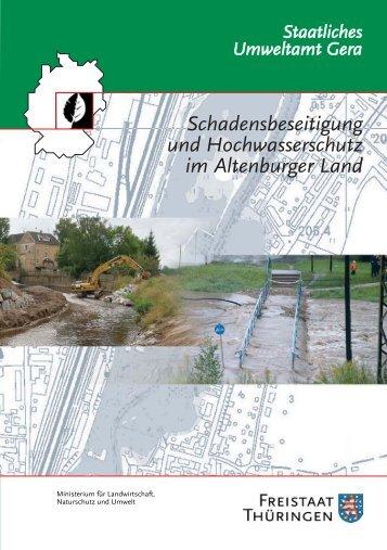 Schadensbeseitigung und Hochwasserschutz im Altenburger Land