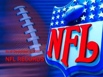 NFL RECORDS