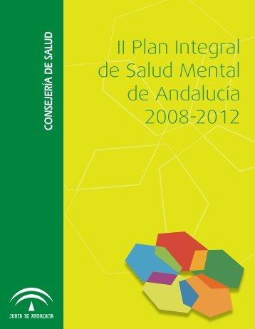 II Plan Integral de Salud Mental de Andalucía 2008-2012