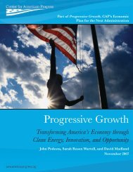 Progressive Growth - The Sallan Foundation