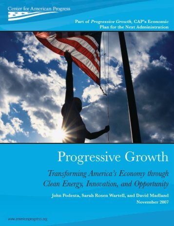 Progressive Growth - The Sallan Foundation