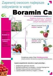 W każdej fazie rozwoju Boramin Ca - Sadnet