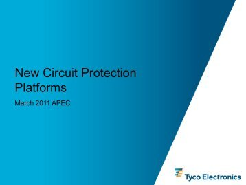 TE Circuit Protection Presentation - ECN