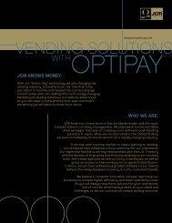 JCM Vending Solutions Brochure - Vendo