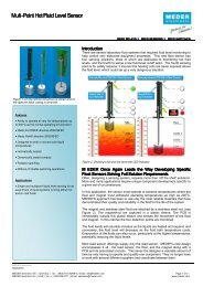 Multi-Point Hot Fluid Level Sensor - Digi-Key