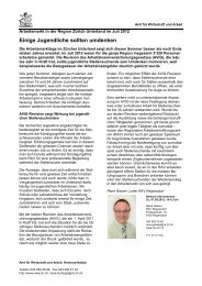 Region Unterland August 2012 (PDF, 36 kB) - Amt für Wirtschaft und ...