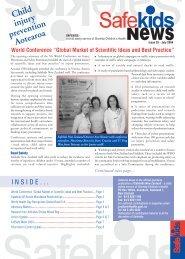 Issue 25, July 2004 - Safekids