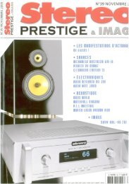 stereo prestige & image - octobre 2009 - Salon de la HiFi  et du
