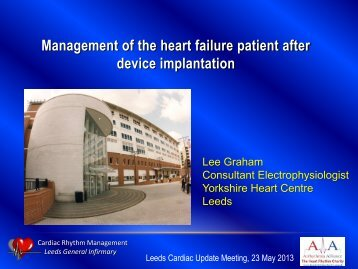 Management of the heart failure patient after device implantation