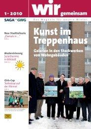 Kunst im Treppenhaus Galerien in den Stockwerken ... - Saga GWG