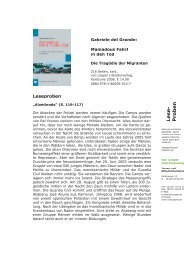 Leseproben del Grande Mamadou.indd - von Loeper Literaturverlag