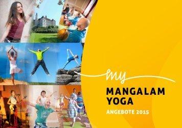 Mangalam Yoga - Angebote 2015