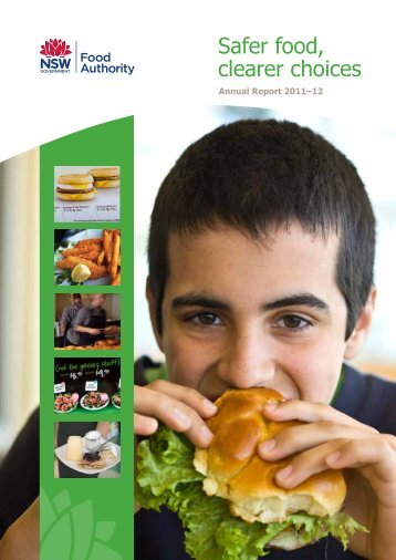 Annual Report 2011-12 - NSW Food Authority - NSW Government