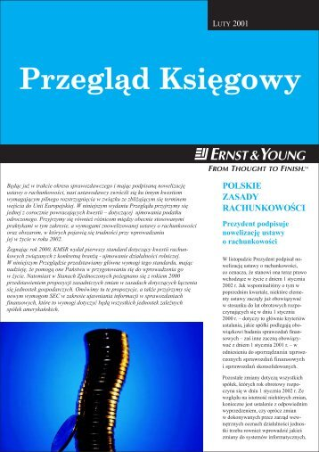Przegl¹d Księgowy - Ernst & Young