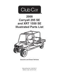 2007 carryall 295 295se and xrt 1550 1550se maintenance and service manual