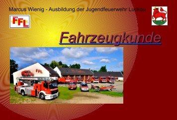 Fahrzeugkunde - Jugendfeuerwehr Luckau