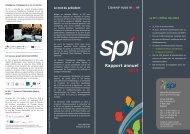 Rapport d'activités 2012 - Spi