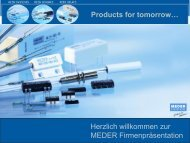 Company Name - MEDER electronic