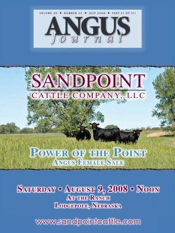 SANDPOINT - Angus Journal
