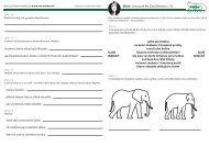 Sloni - pracovní list Zoo Ostrava č. 10