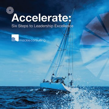 Accelerate: Six Steps to Leadership Excellence