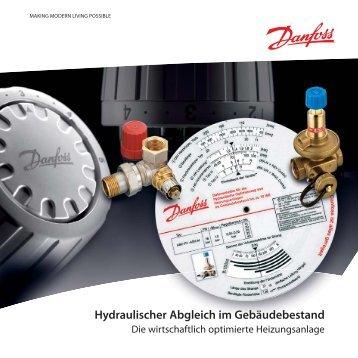 Hydraulischer Abgleich im Gebäudebestand - SBZ
