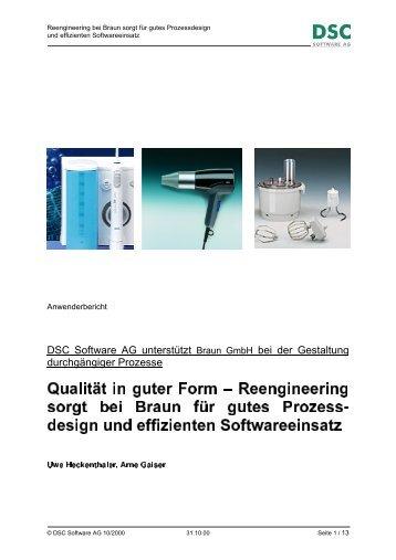 0 0 ¤ §¨ ¤ 01§¨ ¤ 2# % 3©5 4¤ ¦§7 68%£0¡3 - DSC Software AG