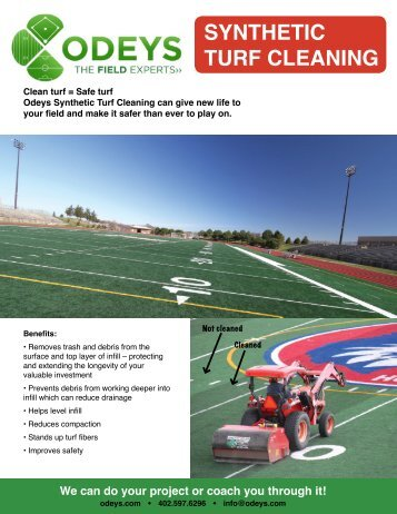 SYNTHETIC TURF CLEANING