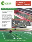 SYNTHETIC TURF CLEANING - Page 2