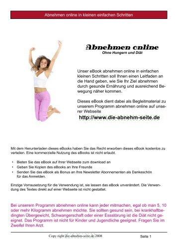 Abnehmen online - SBR-Telekom-Neustadt