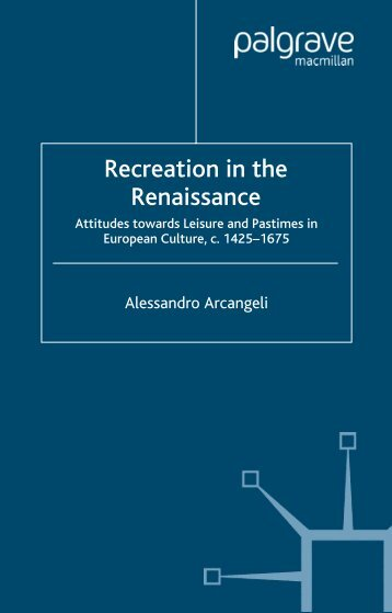 Recreation in the Renaissance