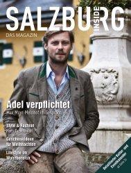 Ausgabe 6 - November - Salzburg Inside - Das Magazin