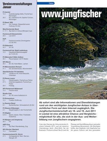 ganzen Bericht lesen - Informationen zur Jungfischermeisterschaft