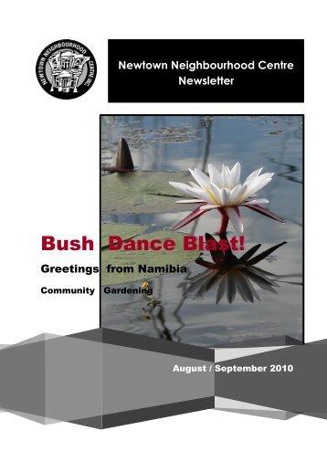 August - September 2010 Newsletter - Newtown Neighbourhood ...