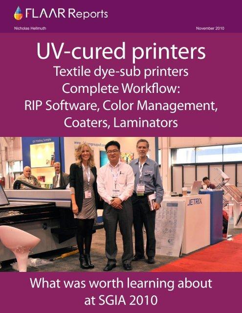 UV-cured printers - Wide-format-printers.org