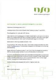 Innkalling og saksliste LS4 - Norsk studentorganisasjon