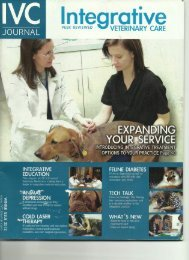 Integrative - School of Veterinary Medicine