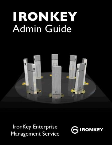 IronKey Admin Guide