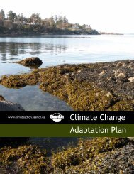 Climate Change Adaptation Plan - District of Saanich