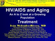 HIV/AIDS and Aging An A to Z look at a Growing ... - The AIDS Institute