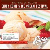 ENjOy EddiE'S iCE CrEam FESTiVal - Eddies of Roland Park