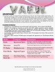 Package w/ morning, midday, & afternoon spots - VA Fashion Week ... - Page 5
