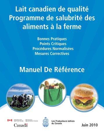 Lait Canadien de qualité - Centre canadien d'information laitière